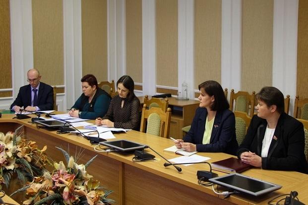 На заседании рабочей группы по подготовке проекта Закона «Об изменении Закона Республики Беларусь «О Белорусском Обществе Красного Креста»